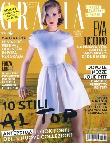 Grazia 10.09.14 cover